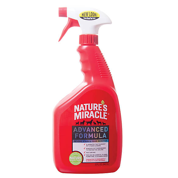 Nature S Miracle Advanced Formula Severe Pet Stain Odor Remover