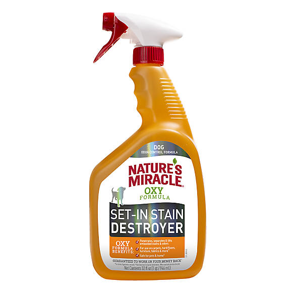 Superieur Natureu0027s Miracle® Oxy Formula Dual Action Pet Stain U0026 Odor Remover