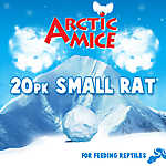 Arctic Mice Small Frozen Rats