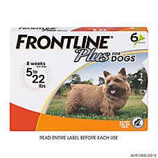 FRONTLINE® Plus 5-22 Lb Dog Flea & Tick Treatment