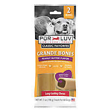Pur Luv™ Grande Bones Dog Treats