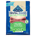 BLUE Dental Bones™ Mini Dog Treat - Natural