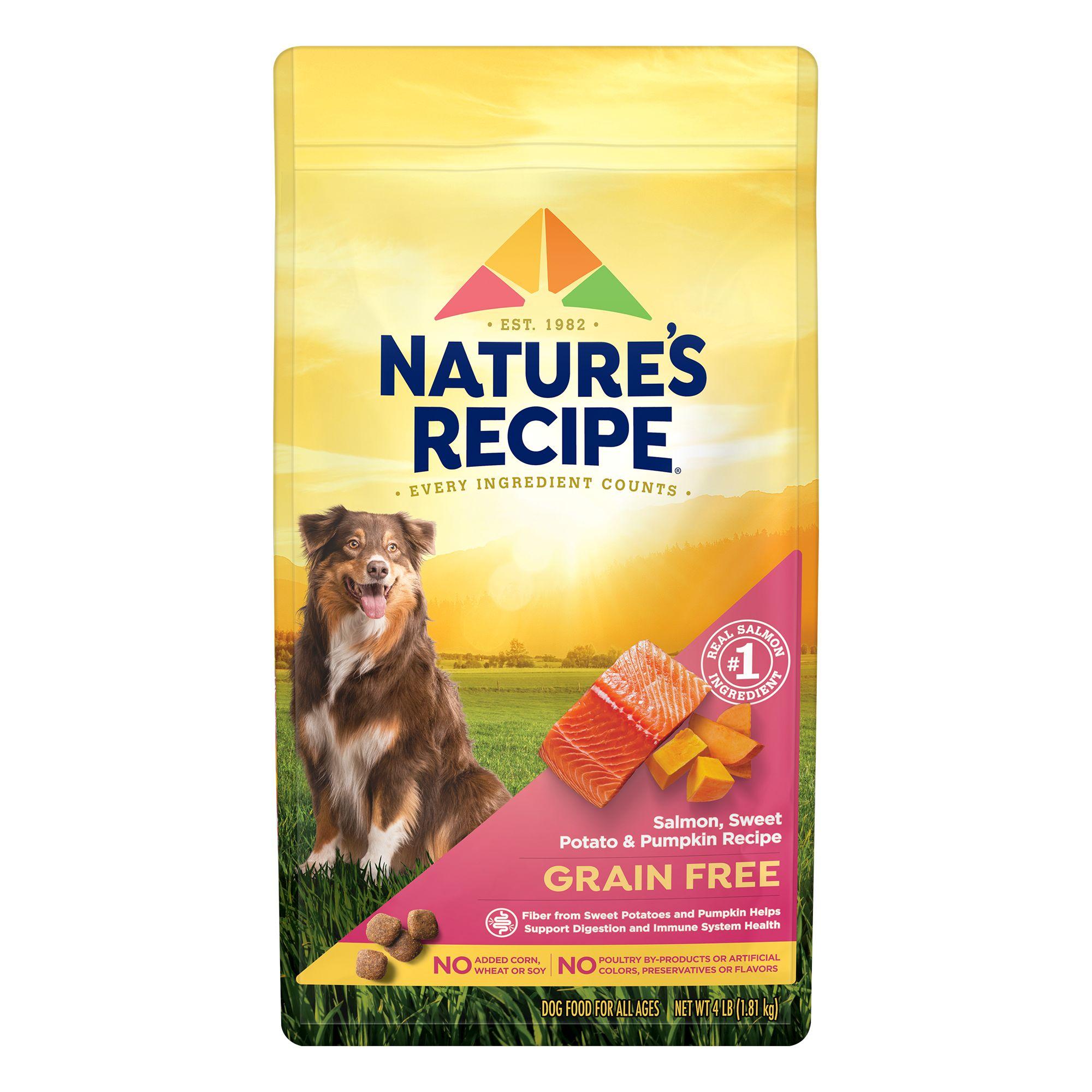 Nature's Recipe Adult Dog Food - Grain