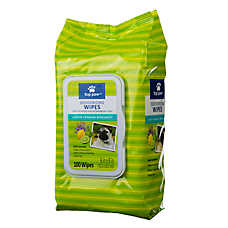 Top Paw® Deodorizing Dog Wipes - Lemon Verbena Bergamont