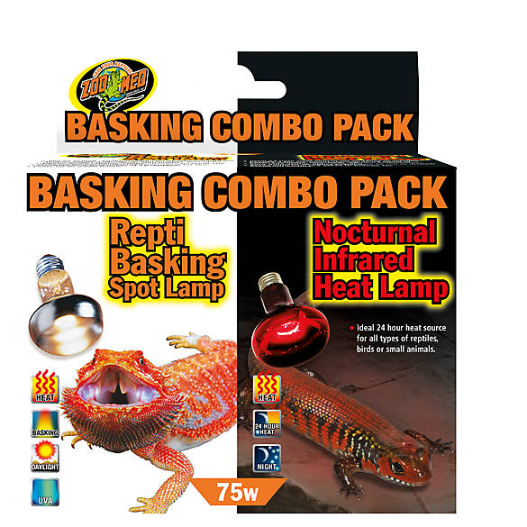 Zoo Med trade  Basking Combo Pack Reptile Lamps  801ba9aa335