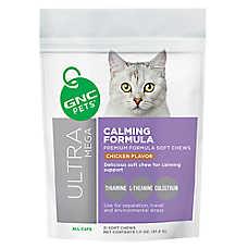 GNC Pets® Ultra Mega Calming Formula Soft Cat Chews - Chicken