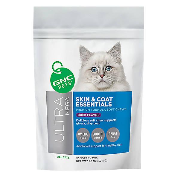 Gnc Pets Skin Coat Essentials Soft Cat Chews Cat Treatments