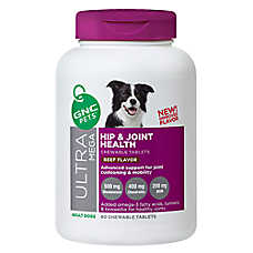 GNC Pets® Ultra Mega Hip & Joint Health Adult Dog Chewable Tablets - Beef