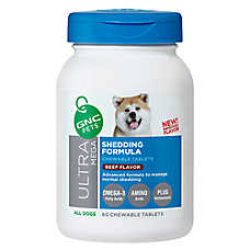 GNC Pets® Ultra Mega Shedding Formula Chewable Dog Tablets - Beef