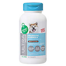 GNC Pets® Ultra Mega Probiotic Formula Chewable Dog Tablets - Beef