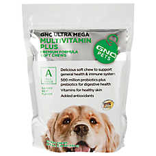 GNC Pets® Ultra Mega Multivitamin Plus Dog Soft Chews - Beef