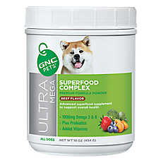 GNC Pets® Ultra Mega Superfood Complex Dog Formula - Beef