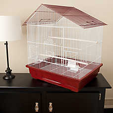Prevue Pet Products Slant Roof Bird Cage
