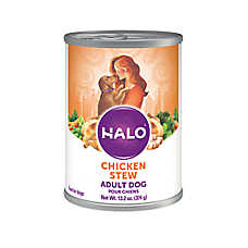 HALO® Adult Dog Food - Natural, Holistic Chicken Recipe