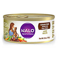 HALO® Adult Cat Food - Natural, Grain Free, Lamb Recipe