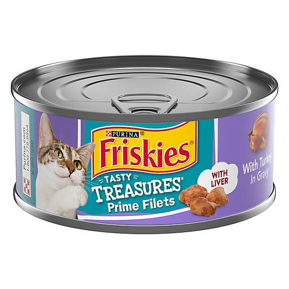 Purina Friskies Tasty Treasures Cat Food Cat Wet Food Petsmart