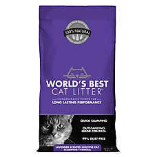 World's Best Cat Litter™ - Natural, Clumping, Multiple Cat, Lavender