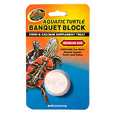 Zoo Med™  Aquatic Turtle Regular Size Banquet Block