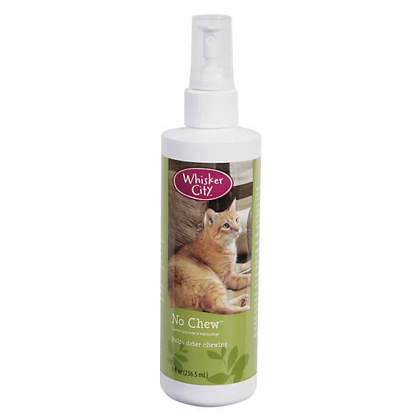 Whisker City® No Chew Cat Deterrent Spray