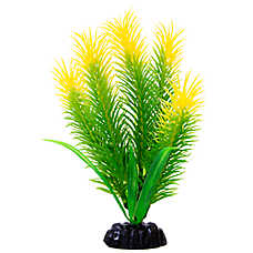 Top Fin® Artificial Green & Yellow Hair Aquarium Plant