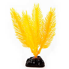 Top Fin® Mini Yellow Hair Artificial Aquarium Plant