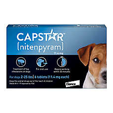 Capstar 2-25 Lb Dog & Cat Flea Treatment