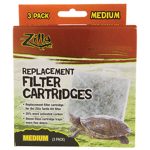 petsmart turtle tank zilla replacement filter cartridge reptile filter systems