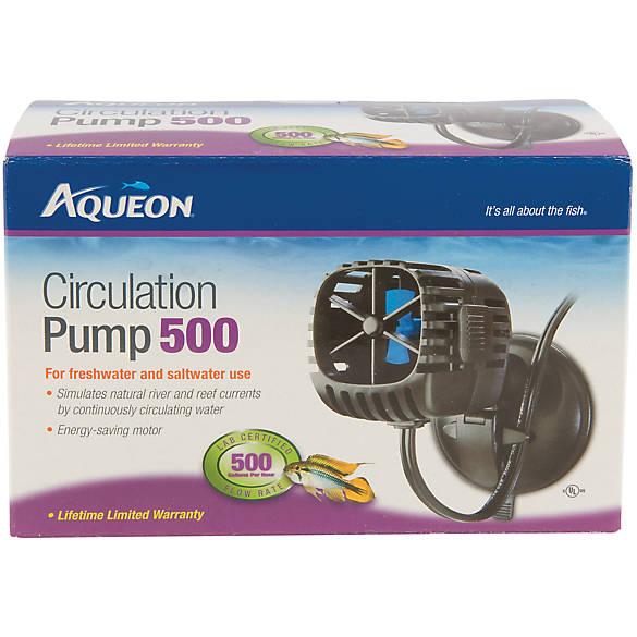 aqueon circulation 500 aquarium water pump fish air water pumps