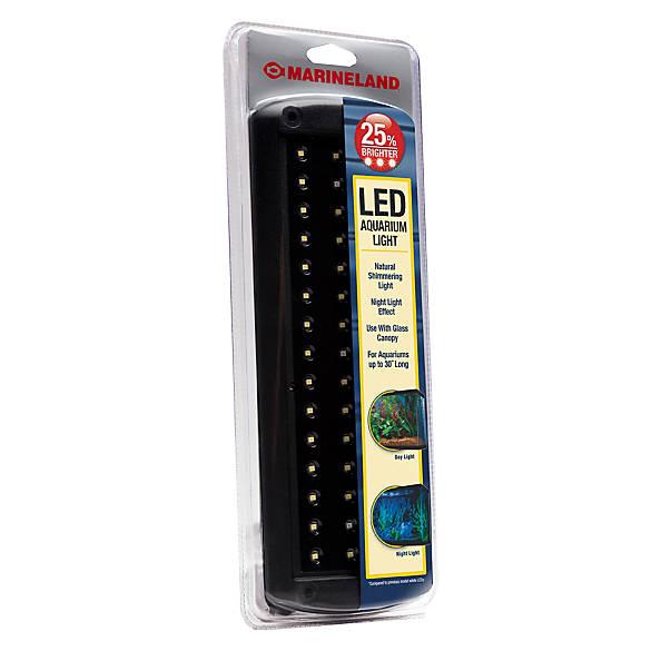 Marineland led aquarium light bar fish lights petsmart for Fish tank heater petco