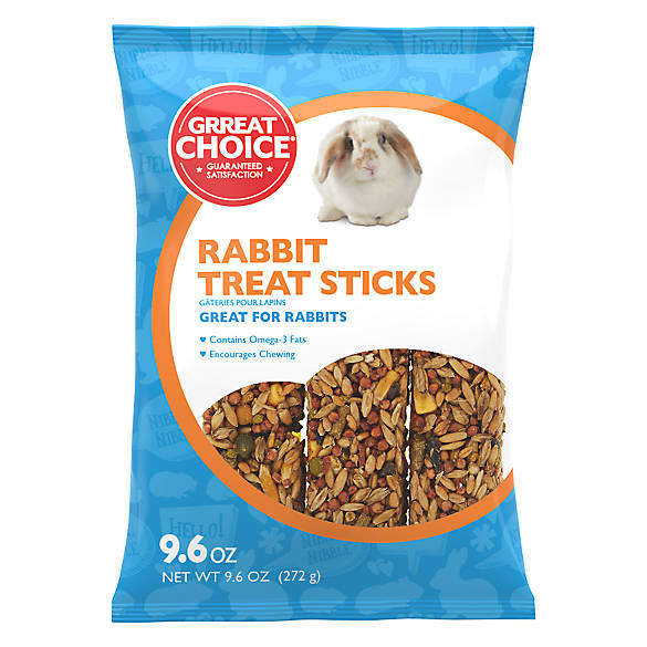 Grreat Choice® Rabbit Treat Sticks | small pet Treats ...