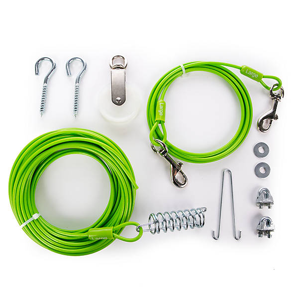 Dog Tie Outs: Dog Tie Out Stakes, Cables & Systems | PetSmart