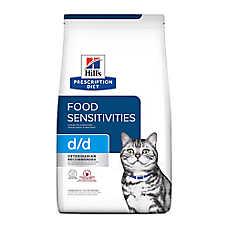 Hill's® Prescription Diet® d/d Skin/Food Sensitivities Cat Food - Venison & Green Pea