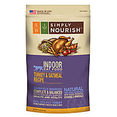 Simply Nourish Indoor Cat Food Natural Chicken Oatmeal