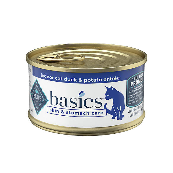 Blue Basics 174 Limited Ingredient Duck Amp Potato Cat Food