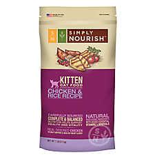 Simply Nourish™ Kitten Food - Natural, Chicken & Rice