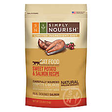 Simply Nourish™ Limited Ingredient Diet Cat Food - Natural, Sweet Potato & Salmon