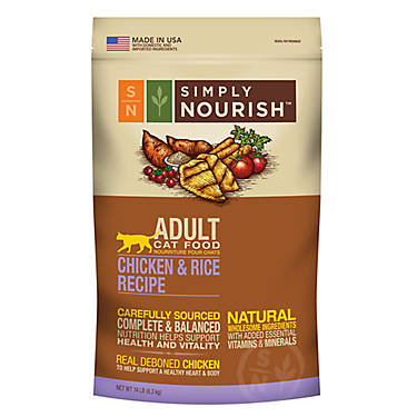 Simply Nourish Cat Food Chicken And Rice