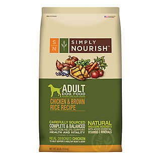large bags of Simply Nourish™ dog food