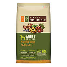 Simply Nourish™ Adult Dog Food - Natural, Chicken & Brown Rice