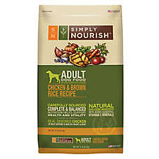 Simply Nourish Adult Dog Food Natural