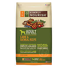 Simply Nourish™ Adult Dog Food - Natural, Lamb & Oatmeal