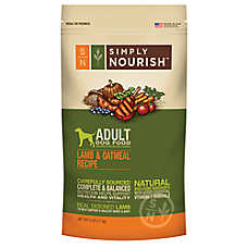 Simply Nourish™ Adult Dog Food - Natural, Lamb & Oatmeal