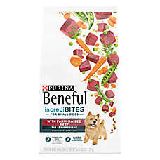 Purina® Beneful® IncrediBites Small Dog Food - Beef