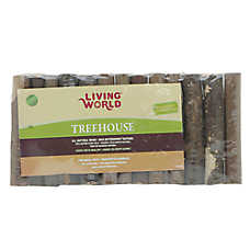 Living World® TreeHouse Real Wood Logs