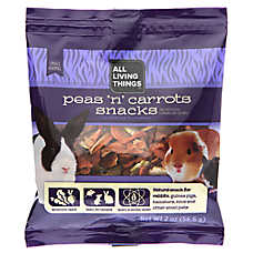 All Living Things® Peas 'N' Carrots Small Animal Meal Topping