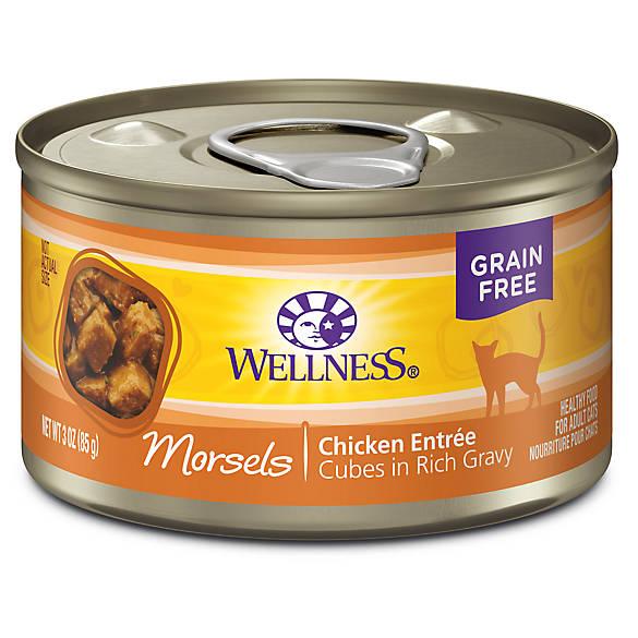 Wellness 174 Cubed Cat Food Natural Grain Free Cat Wet