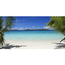 Top Fin® Aquarium Beach Background
