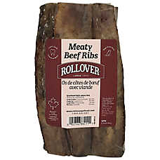 Rollover Meaty Beef Ribs Dog Treat - Large