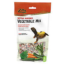 Zilla® Reptile Munchies Vegetable Mix Reptile Food