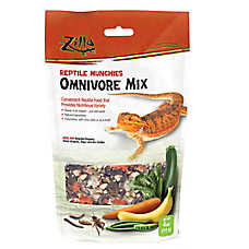 Zilla® Reptile Munchies Omnivore Mix Reptile Food